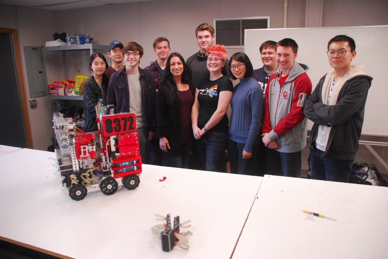 engineering robots with team tnt
