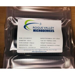 Buy Online! 6um Thermal Oxide on Silicon Wafers with from Rogue