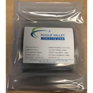 Buy Online! 150mm Silicon Wafers with 3,000A Thermal Oxide from Rogue