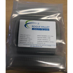 Buy Online! 4um Thermal Oxide on 150mm Silicon Wafers from Rogue