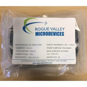 Silicon Wafers 76mm Low Resistivity | Rogue Valley Microdevices