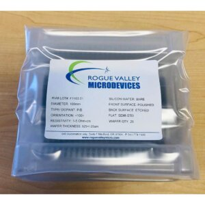 Silicon Wafers 100mm Low Resistivity | Rogue Valley Microdevices